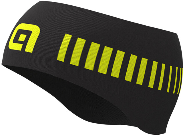 Alé Cycling Strada Bandeau Homme, black/fluo yellow